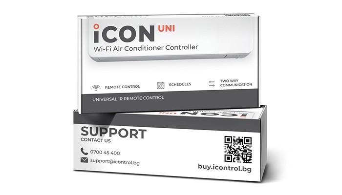 Универсално Wi-Fi управление за климатици iCON UNI