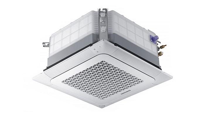 Инверторен касетъчен климатик Samsung AC035NNNDKH/EU