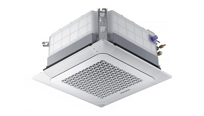 Инверторен касетъчен климатик Samsung AC052NNNDKH/EU